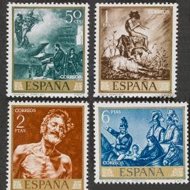 Serie de sellos Mariano Fortuny