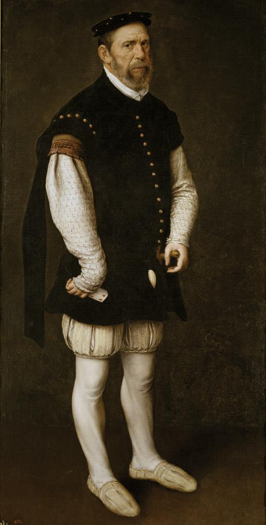 Moro, Antonio. Anton van Dashorst Mor