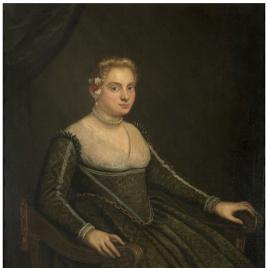 Retrato de señora joven