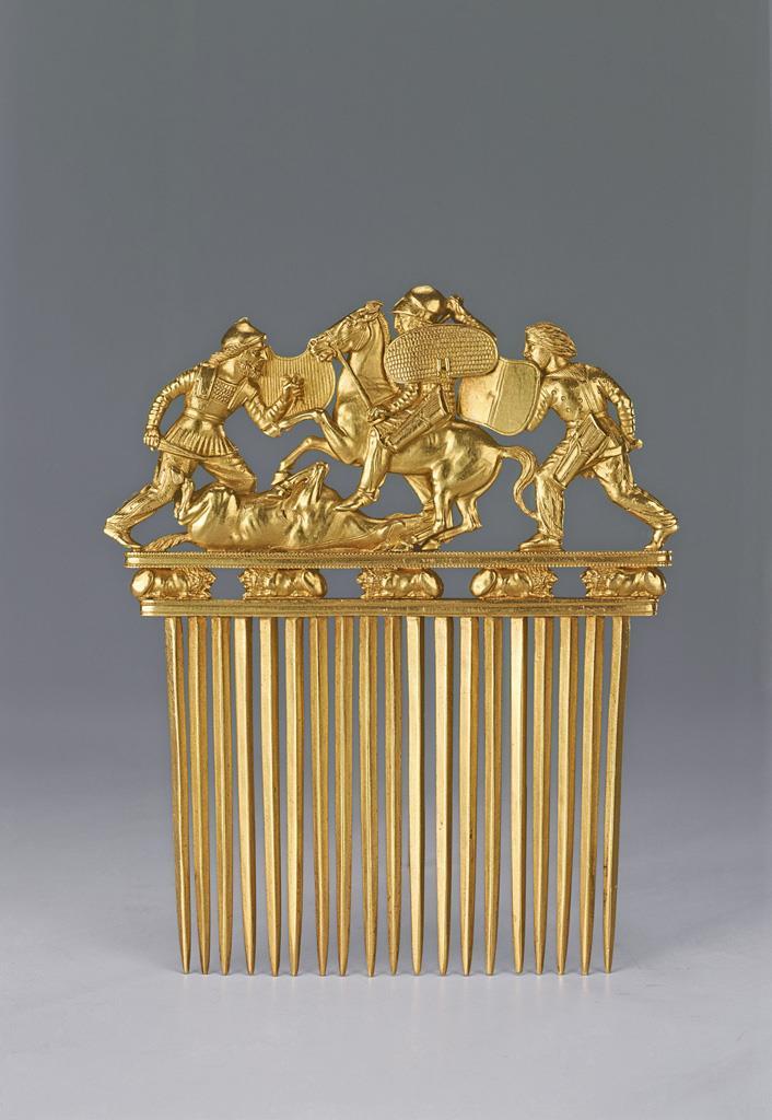 El oro de los nómadas de Eurasia