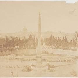 Vista desde el Pincio, Roma