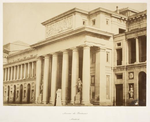 El Museo del Prado en la fotografía