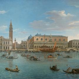 Vista de Venecia desde la isla San Giorgio