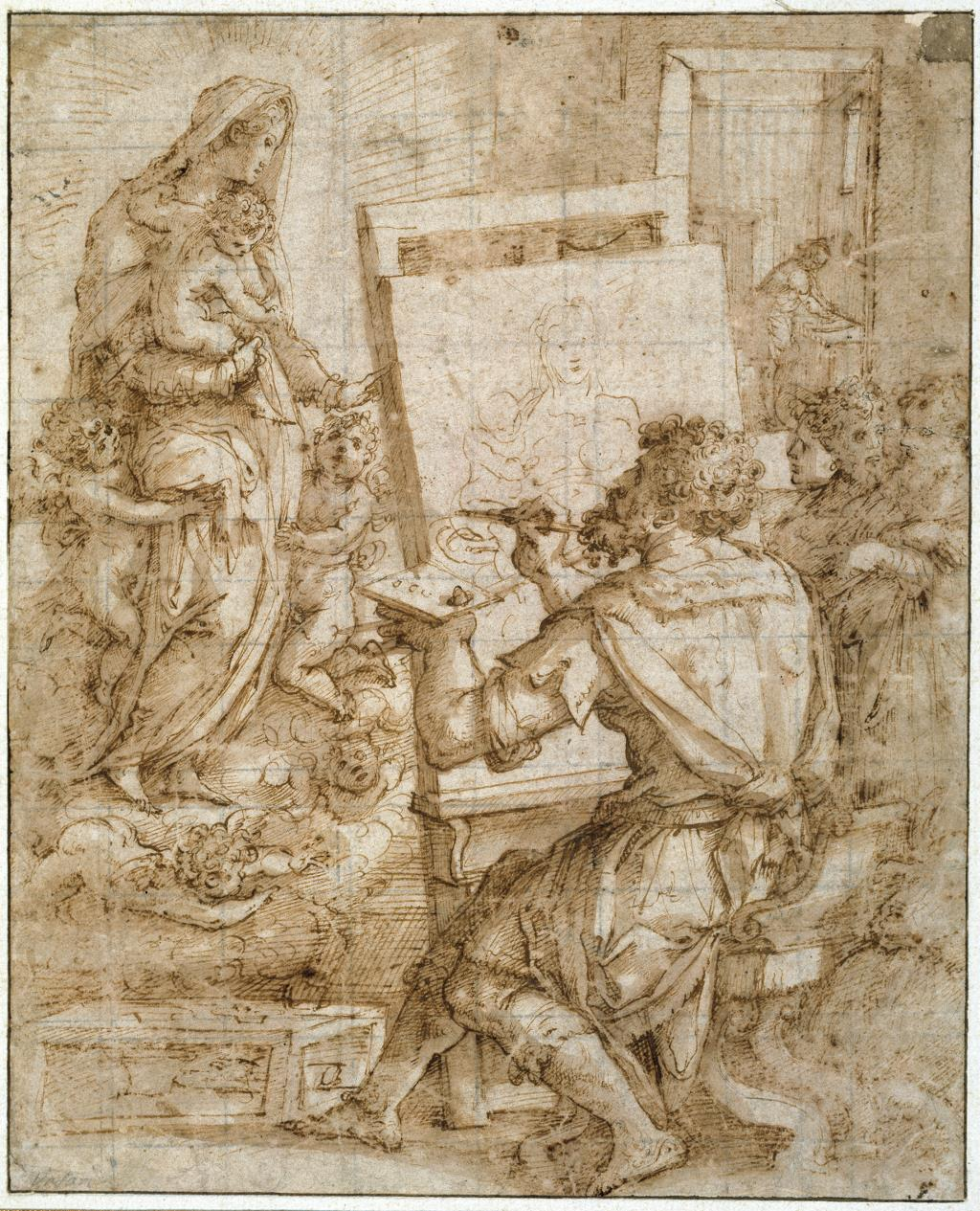 Drawing in the 16th century