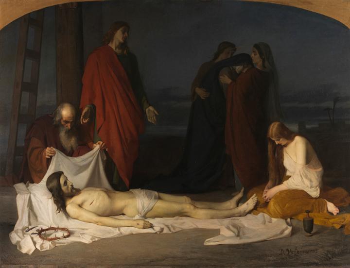 Pinturas religiosas de artistas españoles en Roma (1852-1864)