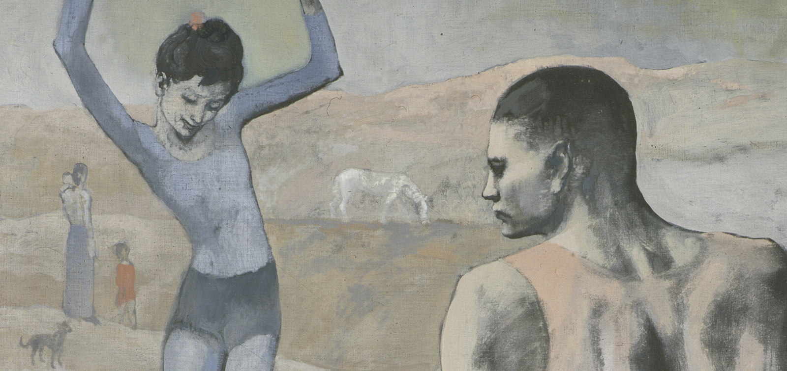 The invited work: Acrobat on a Ball, Picasso