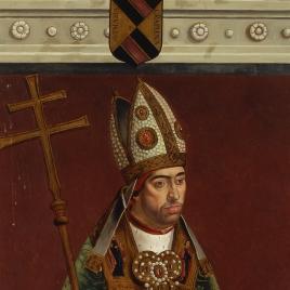El cardenal Don Pedro González de Mendoza, arzobispo de Toledo (copia)