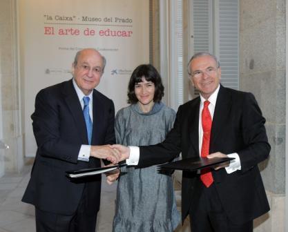 """El Museo del Prado y la Obra Social """"la Caixa"""" firman un convenio para el desarrollo de un ambicioso programa educativo"""