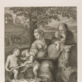 The Holy Family with the Oak Tree