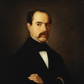 El pintor Francisco Sainz