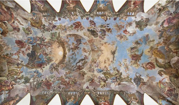 Bóveda de Luca Giordano