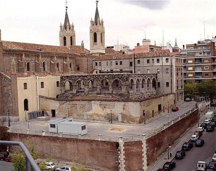 El Claustro de los Jerónimos antes de la reforma