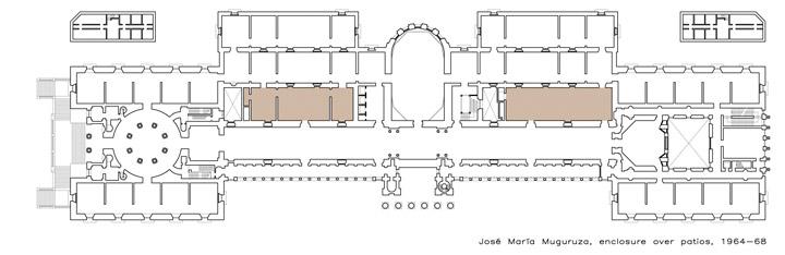 Ampliación de José María Muguruza